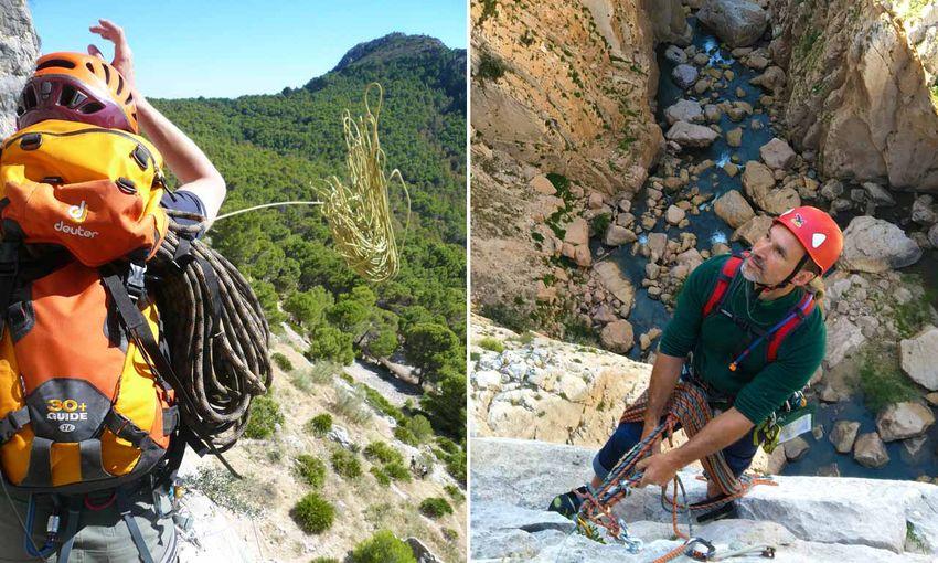 Kletterausrüstung Mehrseillängen : Mehrseillängen kurs klettern in spanien climbing lodge