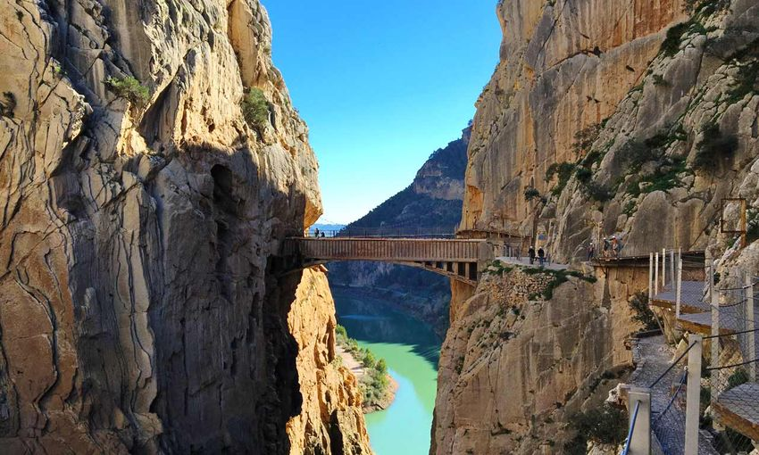Klettersteig Caminito Del Rey : Caminito del rey klettern in spanien.de climbing lodge.com